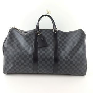 Louis Vuitton Keepall Bandouliere 55 Damier